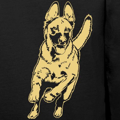 Malinois_separat auf dunklen Shirt