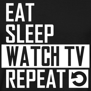 watch tv T-Shirts - Männer T-Shirt
