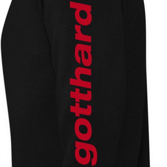 """""""gotthard"""" men's Pullover black"""
