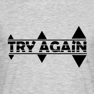 tee shirt TRY AGAIN - T-shirt Homme