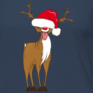A naughty reindeer  Long Sleeve Shirts - Women's Premium Longsleeve Shirt