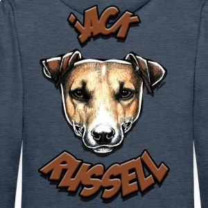 Jack Russell Sweat-shirts - Sweat-shirt à capuche Premium pour hommes