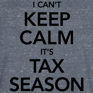 I Can't Keep Calm It's Tax Season T-Shirts - Men's V-Neck T-Shirt