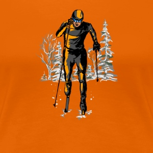 skiing T-Shirts - Frauen Premium T-Shirt