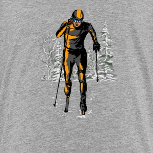 skiing Shirts - Teenage Premium T-Shirt