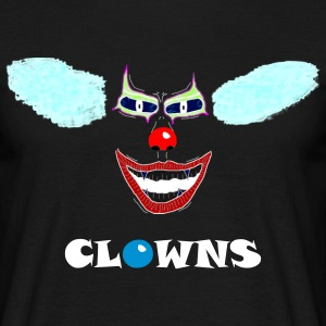 clown-gesicht-negativ2 T-Shirts - Men's T-Shirt