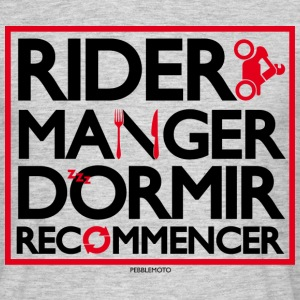 Rider, Recommencer - T-shirt Homme