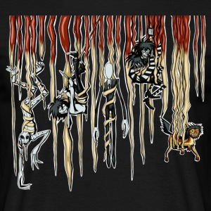 Hanging CreepyPasta - Men's T-Shirt