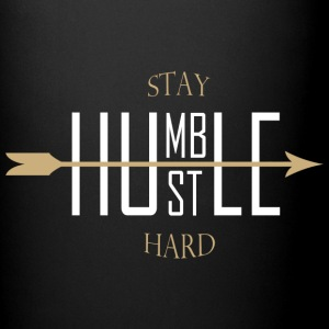 Stay humble - hustle hard Mokken & toebehoor - Mok uni