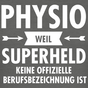 Physio - Superheld T-Shirts - Männer Slim Fit T-Shirt