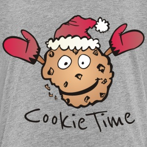 Gråmelerad Christmas Cookie Time T-shirts - Premium-T-shirt barn