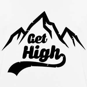 WILL HIGH! T-shirts - mannen T-shirt ademend