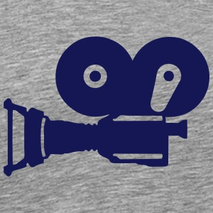 Movie camera old reel film 52486 T-Shirts - Men's Premium T-Shirt