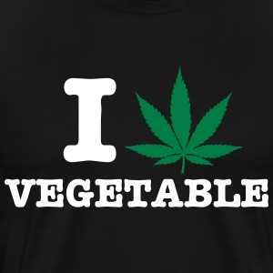 i love vegetable Shirt - Männer Premium T-Shirt
