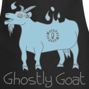 Ghostly Goat  Aprons - Cooking Apron