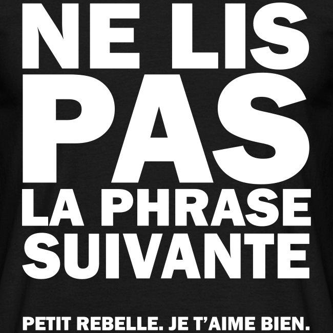 Rebelle - noir