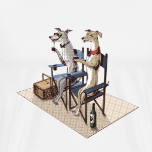 Whippets Tee shirts - T-shirt Premium Homme