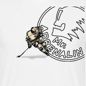 Mr. Adrenalin hockey T-Shirts - Men's T-Shirt