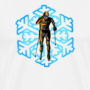cross-country ski T-shirts - Premium-T-shirt herr