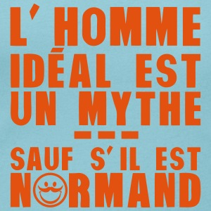 normand homme ideal mythe humour citatio Tee shirts - T-shirt col rond U Femme