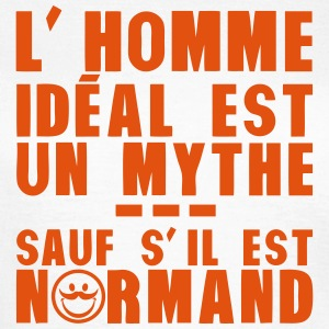 normand homme ideal mythe humour citatio Tee shirts - T-shirt Femme