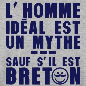 breton homme ideal mythe humour citation Sweat-shirts - Sweat-shirt Homme