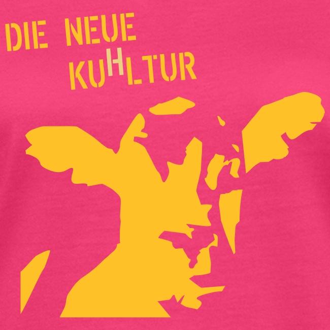 "T-Shirt ""KuHltur"" bio Girlie"