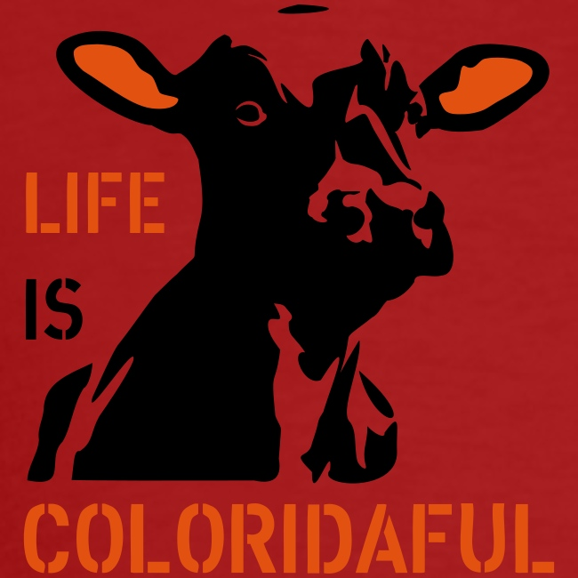 "T-Shirt ""Coloridaful"" bio"