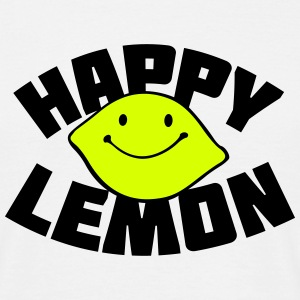 Happy Lemon T-shirts - Mannen T-shirt