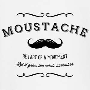 November Moustache Movement Tee shirts manches longues Bébés - T-shirt manches longues Bébé