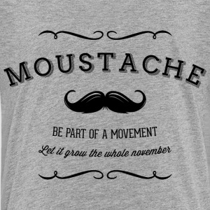 November Moustache Movement T-shirts - Teenager premium T-shirt