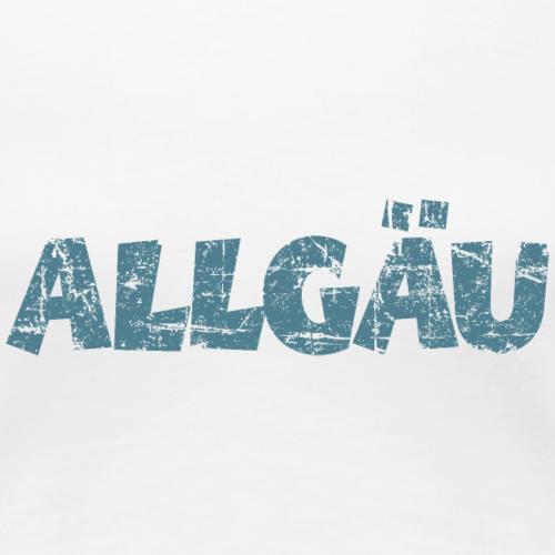 Allgäu Vintage Blau