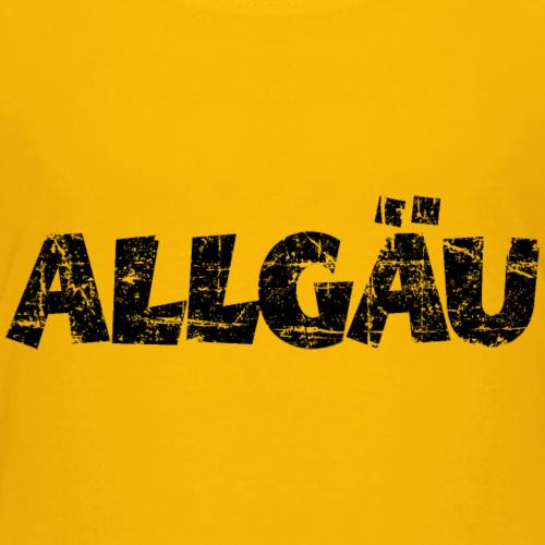 Allgäu Vintage Schwarz