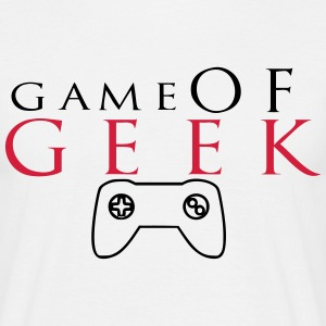 game of geek 1 T-Shirts - Männer T-Shirt