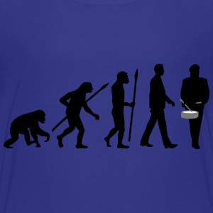 evolution_spielmannszug_trommel_102015_a T-Shirts - Teenager Premium T-Shirt