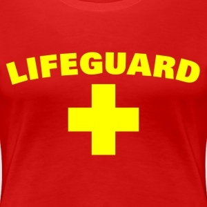Lifeguard T-Shirts - Women's Premium T-Shirt