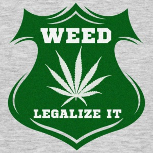 Weed - Legalize it T-Shirts - Männer T-Shirt