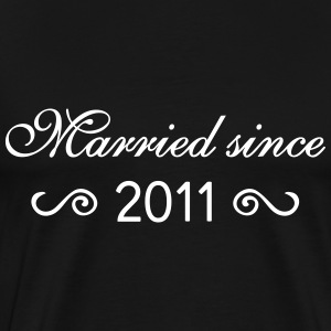 Married since 2011 T-Shirts - Männer Premium T-Shirt