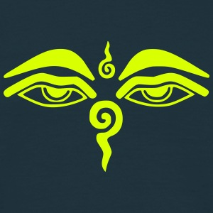 Eyes of Buddha T-shirts - Mannen T-shirt