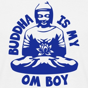 Buddha is my Om Boy T-shirts - Mannen T-shirt