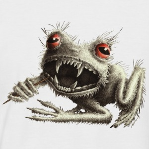 Werefrog Monster Baseball T-shirt - Men's Baseball T-Shirt