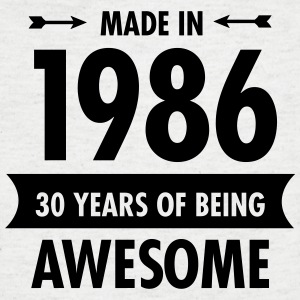 Made In 1986 . 30 Years Of Being Awesome T-shirts - T-shirt med v-ringning herr