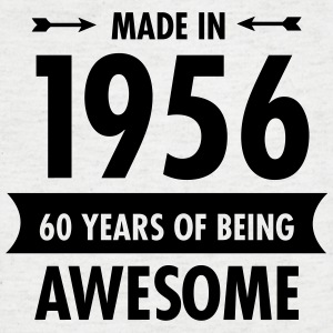 Made In 1956 . 60 Years Of Being Awesome Camisetas - Camiseta de pico hombre