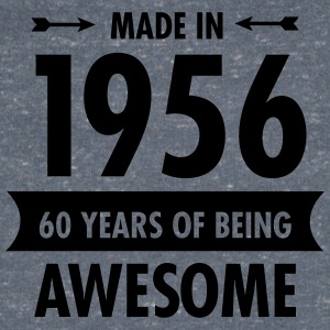 Made In 1956 . 60 Years Of Being Awesome Tee shirts - T-shirt Homme col V