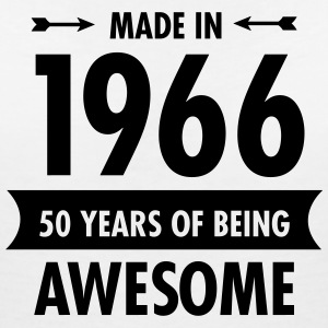 Made In 1966 . 50 Years Of Being Awesome T-Shirts - Women's V-Neck T-Shirt