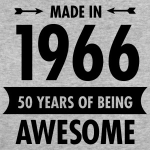 Made In 1966 . 50 Years Of Being Awesome T-Shirts - Women's Organic T-shirt