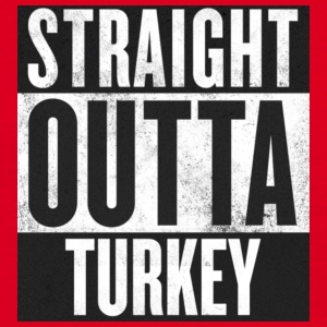 Straight outta Turkey  - Männer T-Shirt