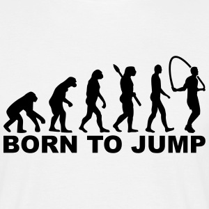 Evolution born to jump T-Shirts - Männer T-Shirt