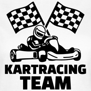 Kart racing team T-Shirts - Frauen T-Shirt