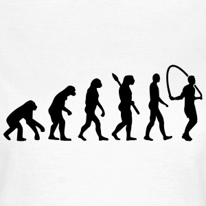 Evolution Seilspringen T-Shirts - Frauen T-Shirt